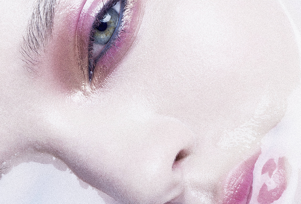 Submerge beauty editorial