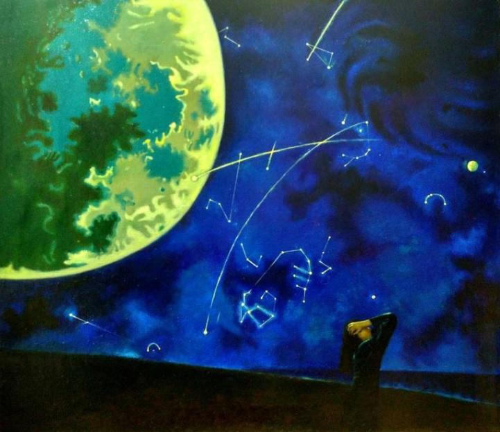 Full Moon by Andrei Buryak